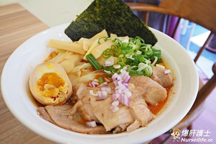 石牌黑曜麵屋.神奇麻辣鍋風味的日式拉麵