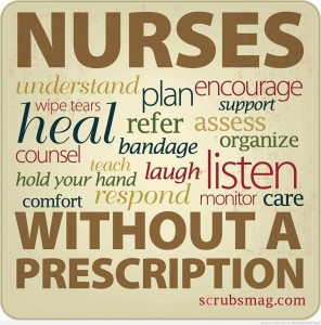 nurses do a lot