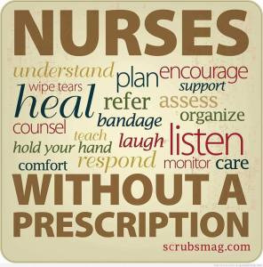 nurses do a lot