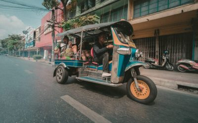 Bangkok by Cab/Taxi or Bike with Driver