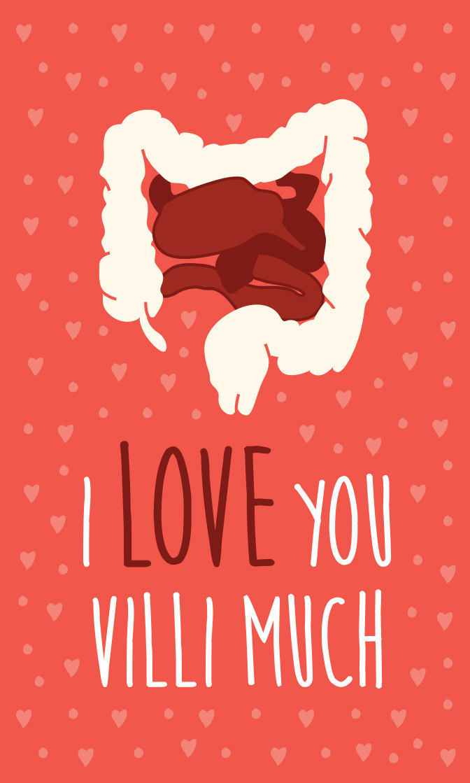 I Love You Villi Much NurseLifeGear