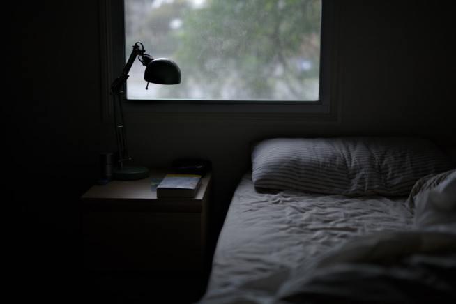 ベッド周辺