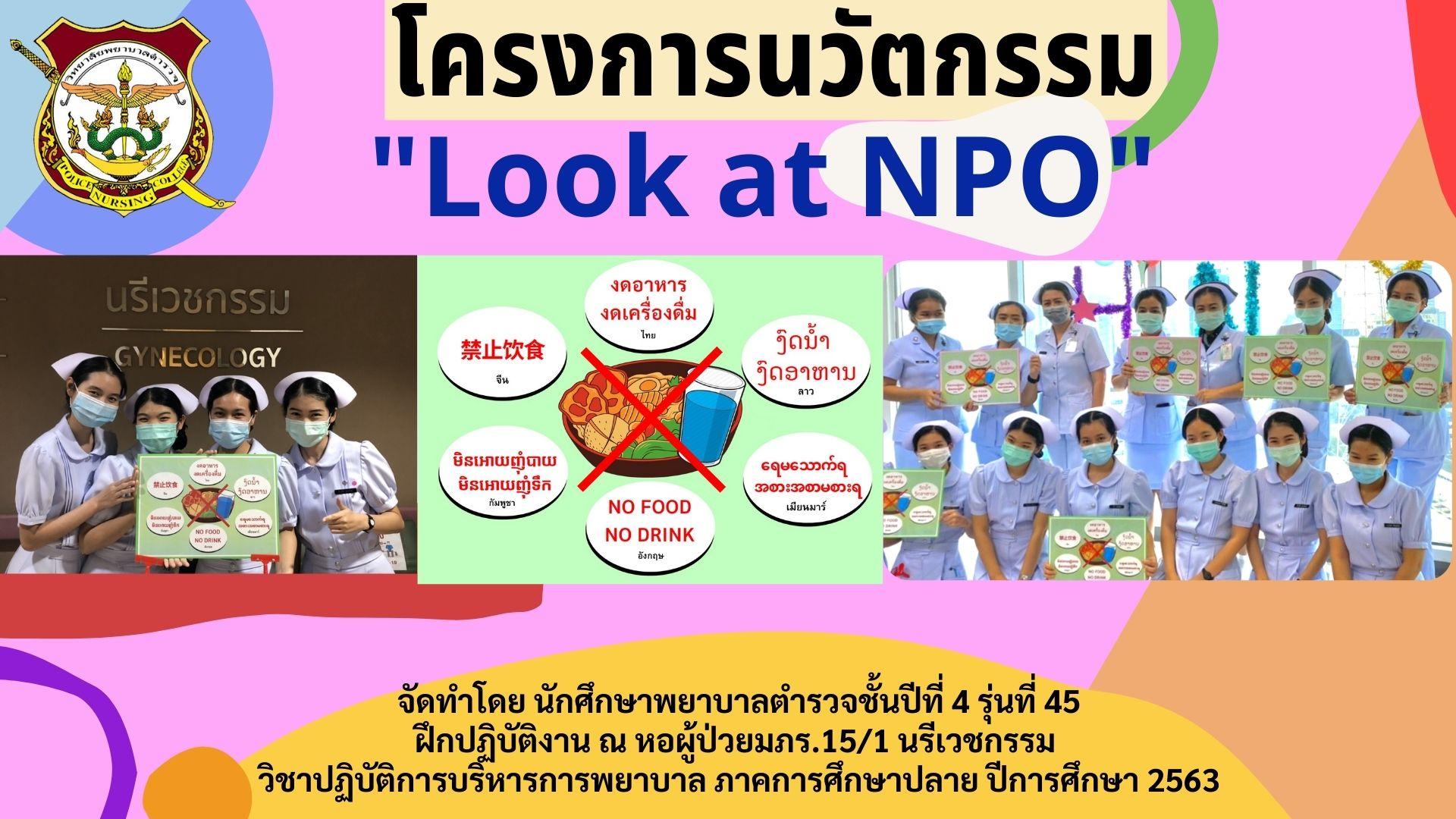 2 Look at NPO