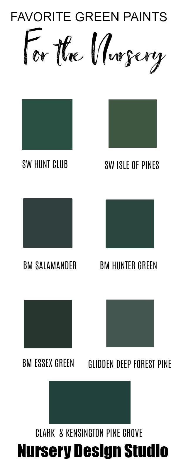 Best Emerald Green Paint Color : emerald, green, paint, color, LOOK:, EMERALD, NURSERY, Nursery, Design, Studio