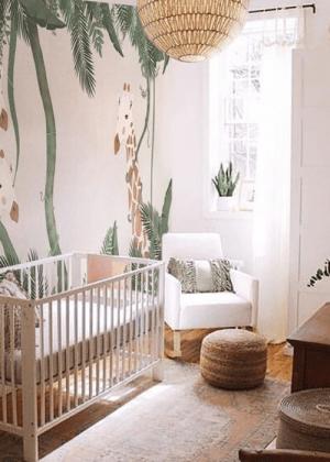 nature inspired rooms nursery via