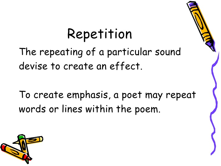 Why Repetition is Effective