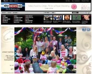 Nursery Rhymes Royal Wedding Party on Sky News!