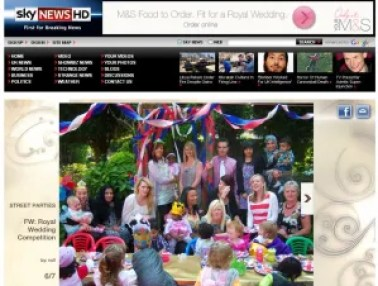 Nursery Rhymes Royal Wedding Party on Sky News!