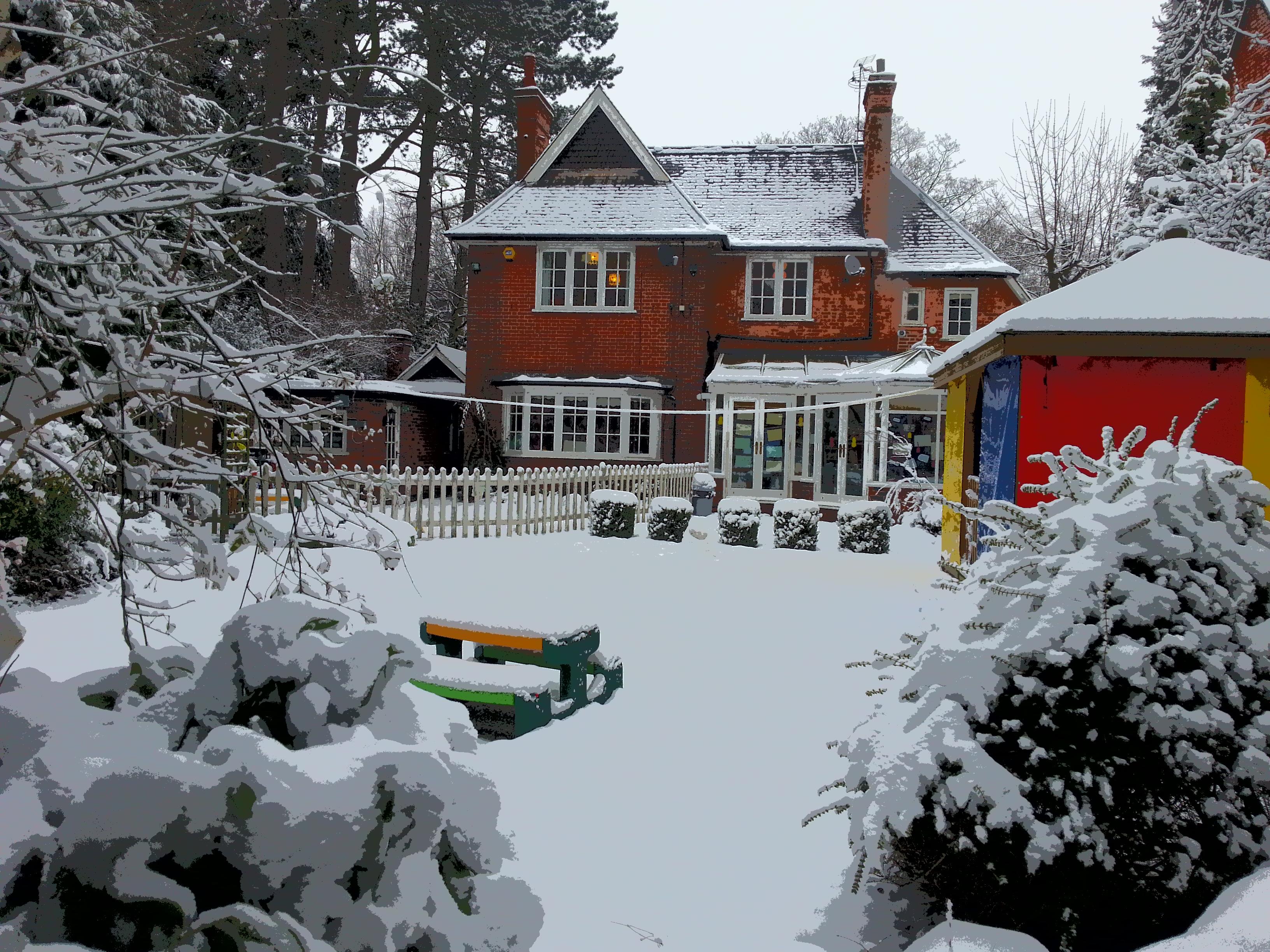 Snow at Nursery Rhymes