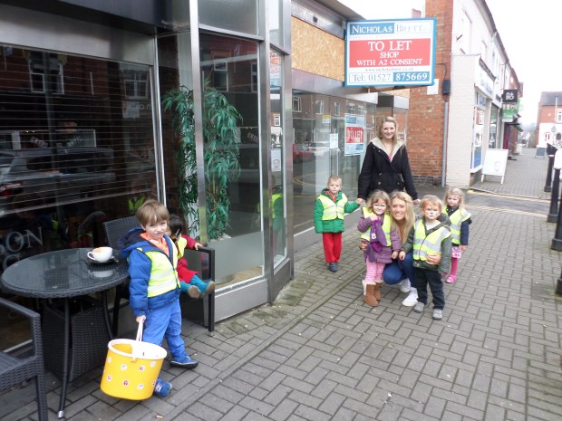 Red nose day Leicester, childcare nurseries