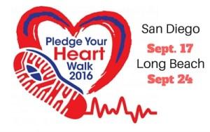 2016 Heartwalk San Diego, Long Beach
