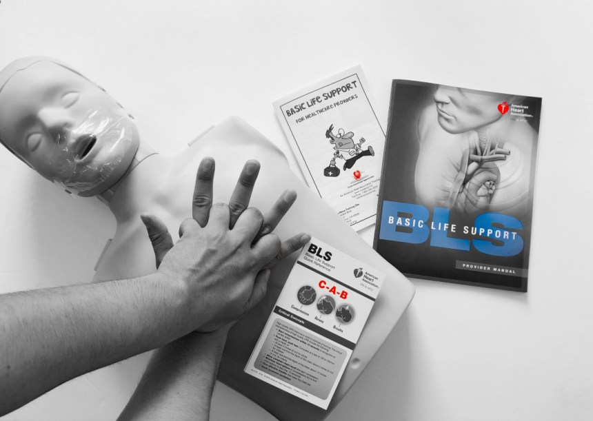 AHA American Heart Association Basic Life Support and AHA BLS HeartCode