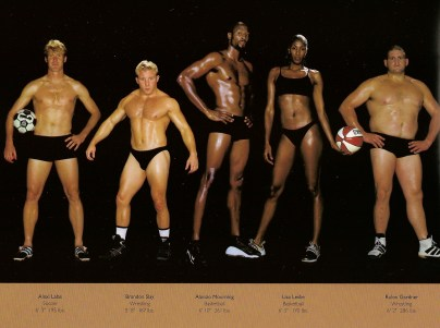 Humanizing the Olympic Body