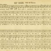 Zip Coon sheet music