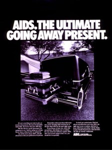 A 1980s poster produced by the Dallas County Health Department
