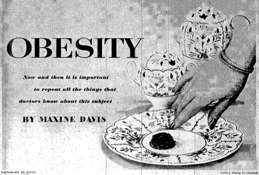 Nursing Clio Collective Fat Awareness in 1950s America ...