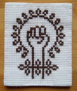 Feminism. (Cross-stitch ninja/Flickr CC BY-NC-ND)