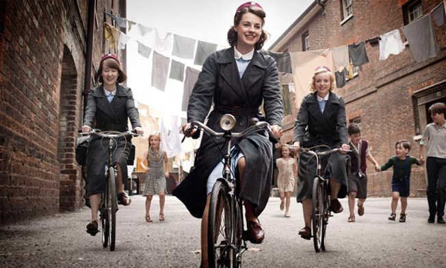 Call the Midwife promotional photograph. (BBC)