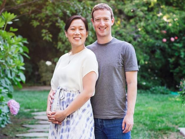 Mark Zuckerberg and Priscilla Chan (Mark Zuckerberg/Facebook)