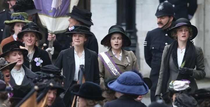 Still frame from Suffragette.