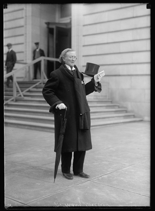 Doctor Mary Walker, between 1911 and 1917. (Harris & Ewing/US Library of Congress)