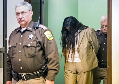 Purvi Patel, found guilty of felony neglect and feticide on February 3, 2015, in South Bend, Indiana, for self-inducing an abortion. (Robert Franklin/South Bend Tribune)