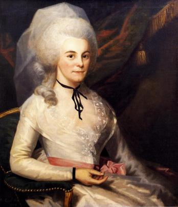 Elizabeth Schuyler Hamilton, ca. 1787. (Ralph Earl/Museum of the City of New York/Wikimedia)