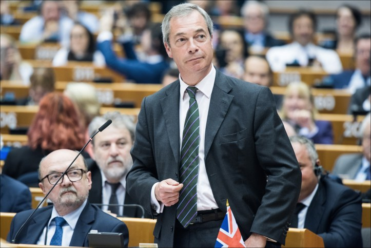 Nigel Farage, UK Independence Party (UKIP) leader and public face of the Leave campaign. (European Parliament/Flickr | © European Union 2016 CC BY-NC-ND 4.0)
