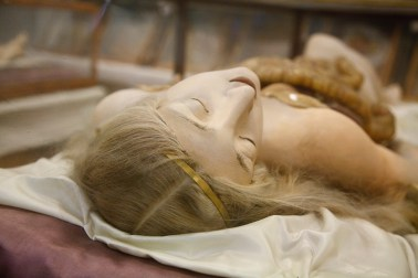 A Clemente Susini anatomical model at The Josephinum, in Vienna, Austria.