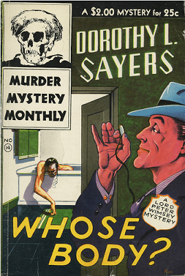 Dorothy L. Sayers, Whose Body book cover.