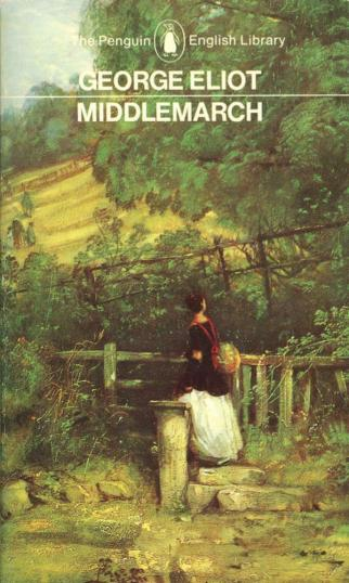 Cover of the Penguin edition of George Eliot's Middlemarch.