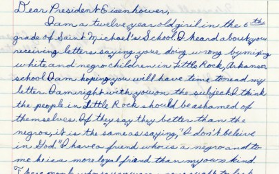 "More Than Sponges: Children's Letters to Presidents and ""Go Back to Africa"""