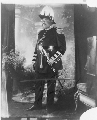 Garvey in full UNIA dress uniform, 1926. (Toussaint-Studios, New York World-Telegram & Sun Collection/Library of Congress)