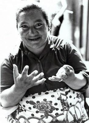 Housewives Committee leader Domitila Barrios de Chungara.