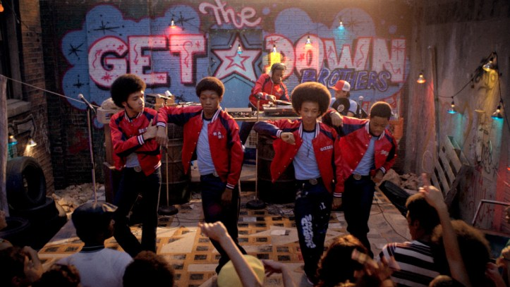Scene from The Get Down.