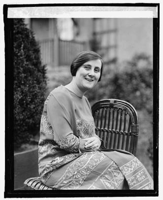 Portrait of Bertha Lutz in 1925 (Library of Congress | Public Domain)