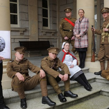 WW1 Roadshow at the National Library of Ireland (2007). (NLI/Flickr)
