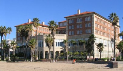 A Renaissance Revival-Mediterranean Revival style, built in 1926, in Santa Monica.