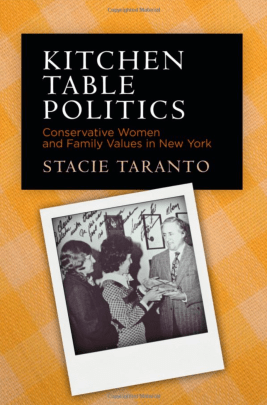 Book jacket cover for Stacie Taranto's Kitchen Table Politics