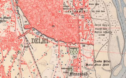 Bodies in the Way: Delhi's Dead and the Pressures of Space