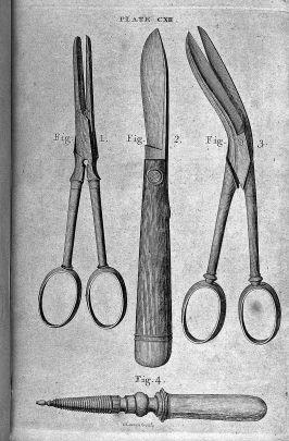 Scissors, scalpel, other tools