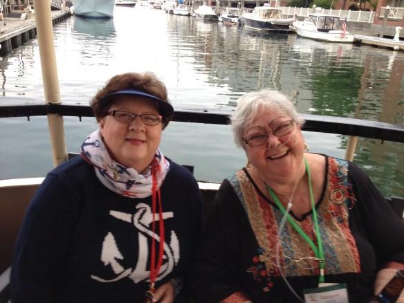 Dr. Jackie Owens (L) and Dr. Margaret Freda (R) at INANE 2014