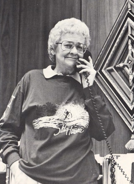 Grayce in 1987, at the time of her role as Acting Dean, College of Nursing, OSU