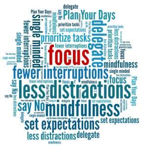 Focus Word cloud