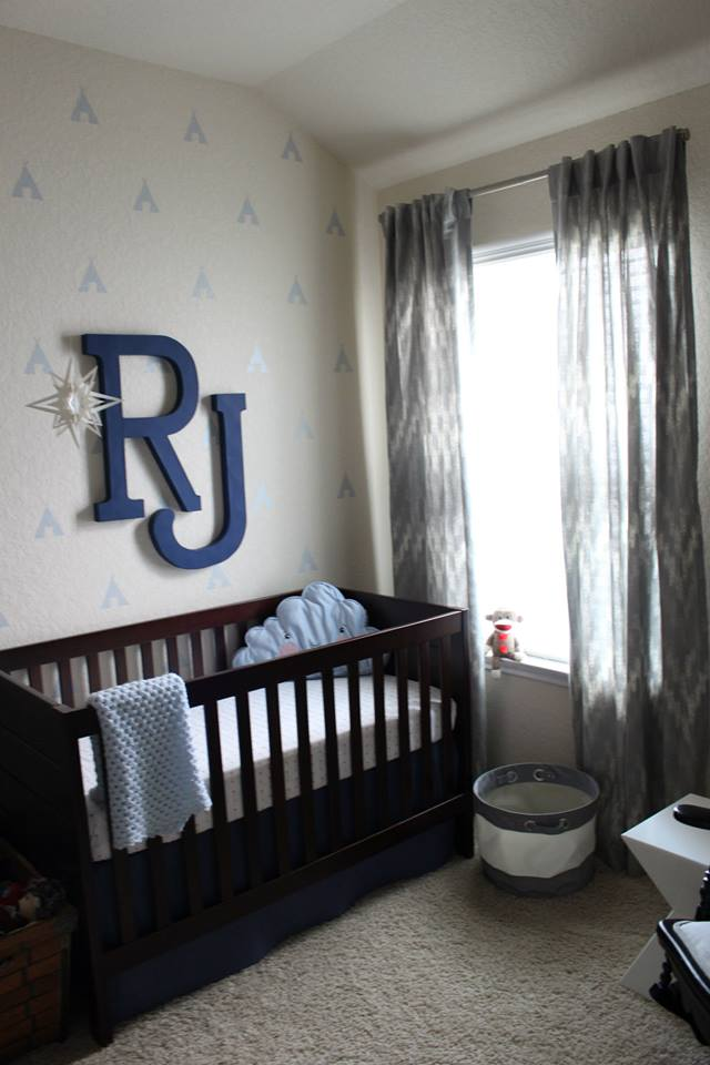 Baby Boy Nursery Ideas - Lil Man Cave Nursery