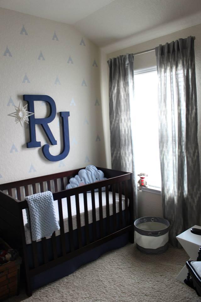 Baby Boy Nursery Ideas - Lil Man Cave Nursery