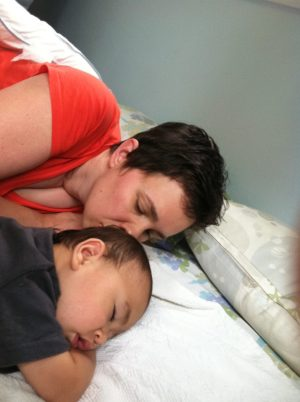 The Sleeping Habits of a Breastfed Baby