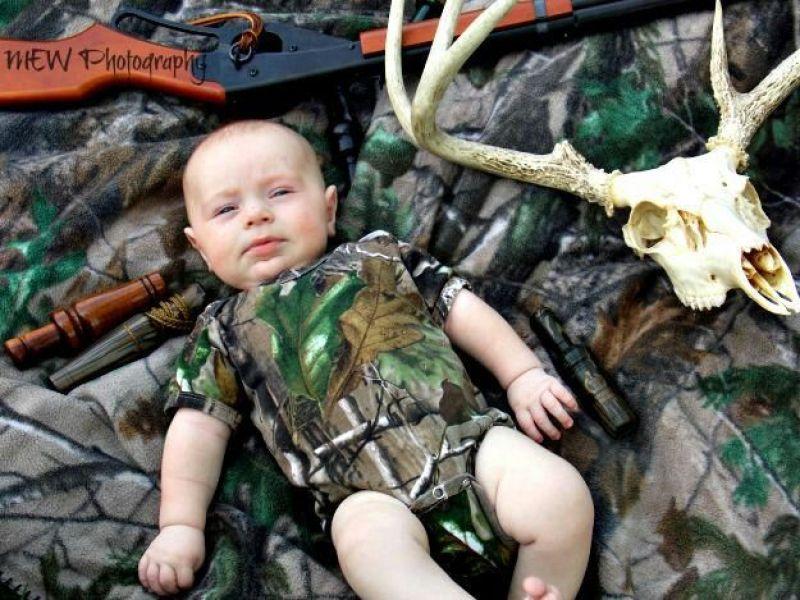 newborn baby boy - Baby Camouflage Clothes