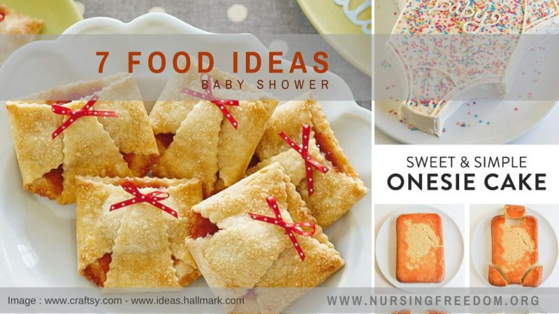 10 food ideas for Baby Shower