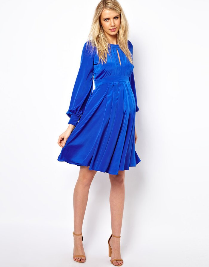 Long Sleeve Maternity Dresses for Baby Shower